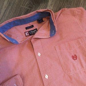 Men's Chaps Easy Care button down shirt